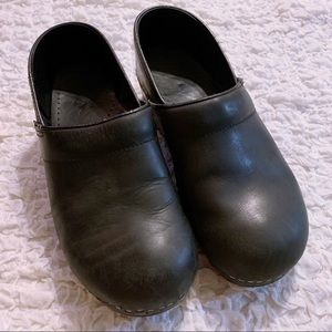 Dansko Leather Shoes Black 41